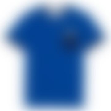 Royal Blue Sea Fancy Pocket T Shirt