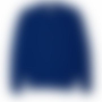Oliver Spencer Blue Long Sleeves Blenheim Sweater