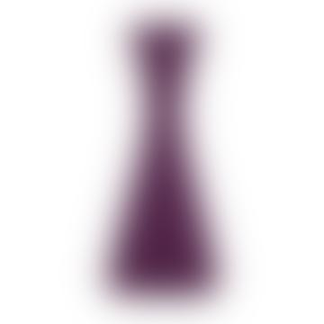 Medium Purple Candle Holder