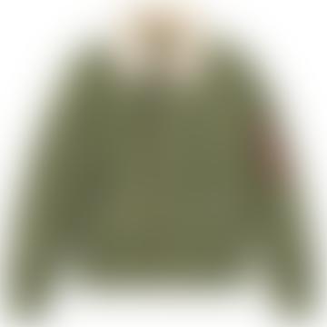 Sage Green Injector III Flight Jacket
