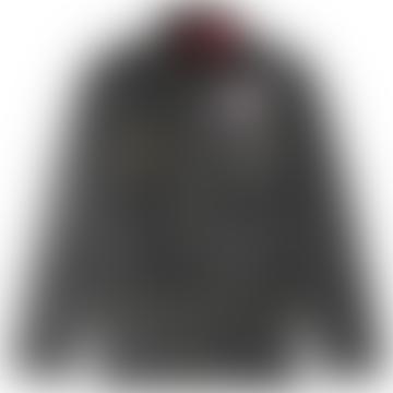 Barbour International Union Jack Jacket Black