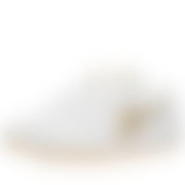 Diadora B. Elite H Italy Sport White & Gold