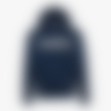 Denim Blue Hooded Sweatshirt