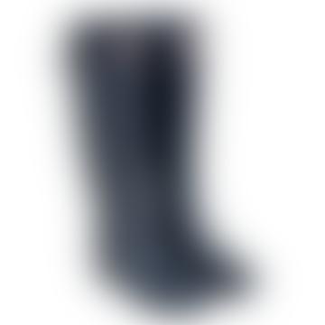 Navy Original Refined Slim Fit Tall Wellington Boots