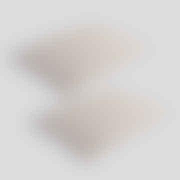 60x40 Plain Light Grey Snooze Cushion Set of 2
