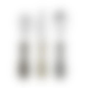 Sebra Soil Brown and Grey Tones Cutlery Set