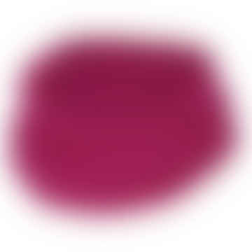 Raspberry Wool and Silk Tube Scarf