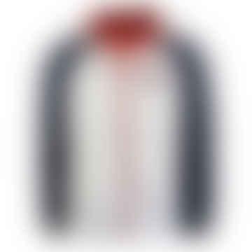 Tommy Jeans Multi Colour Block Zip Thru Jacket