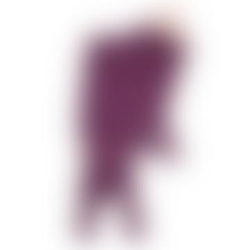 Purple Fox Scarf