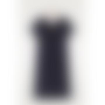 Carbon Black Nono V Neck Midi Dress