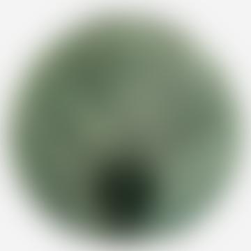 Madam Stoltz Vase Leaf Green