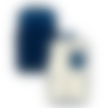 Reversible Sleeveless Jacket Navy Blue Bivy Down