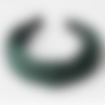 Green Knot Satin Headband