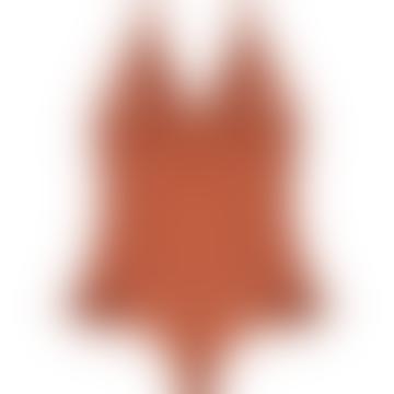 Love Stories Bibi Chestnut Bodysuit
