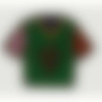Multicolor Funky Soccer Jersey Brooch