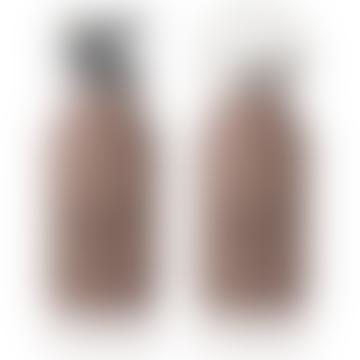 Dark Rose Stainless Steel Panda Anker Water Bottle