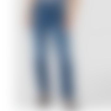 Yama Xavier Blue Worn Jeans