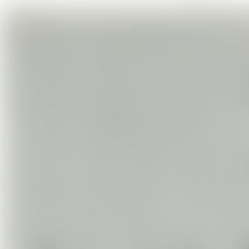 Ecru and Gray Zigzag Pasilla Carpet 200x70cm