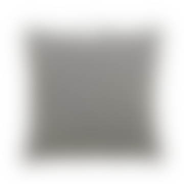 Medium Grey Filler Pattern Cushion with Handle