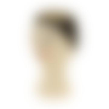 Illustrated Ladys Head Ceramic Vase
