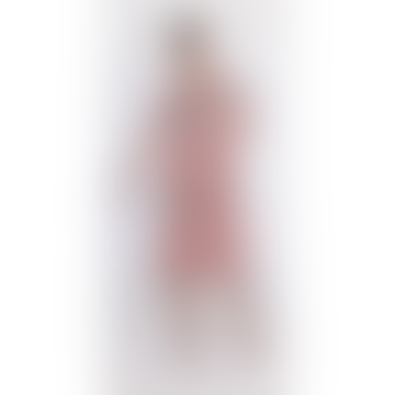 Heinui Neil Dress in Pink Splatter & Black Strokes Print