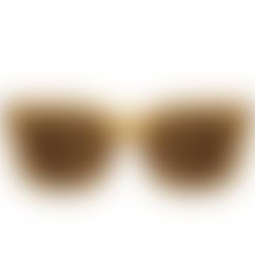Nancy Light Brown Sunglasses