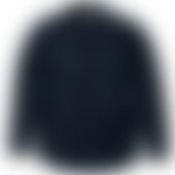 Vissla Dark Denim Kerrupt Bonded Flannel Shirt