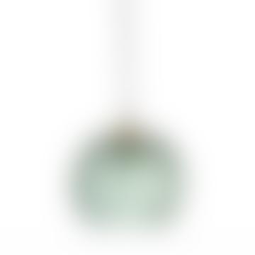 Bloomingville Green Glass Pendant Lamp