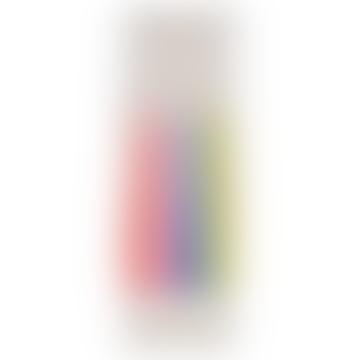 Meri Meri Pack of 16 Rainbow Dipped Tapered Candles