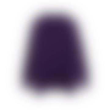 ange  Purple Louisette Sweater