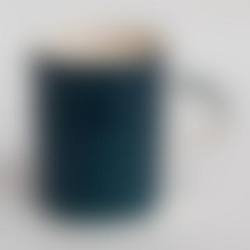 Handmade Demi Mug In Teal