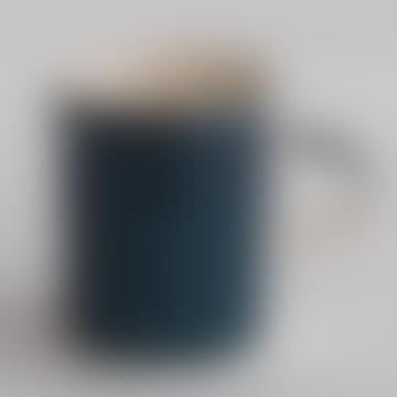 Handmade Espresso Mug In Teal