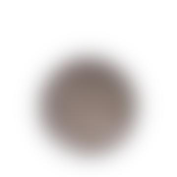 Medium Grey Souk and Brown Pattern Printed Bowl