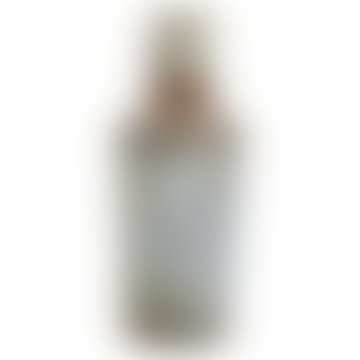 Large Bennu Bottle Vase - Aged Zinc