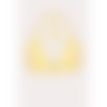Alma da Onda Yellow Limao Triangle Bikini Top