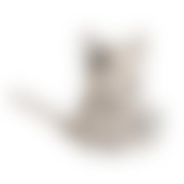 White Cat Zorro Cushion