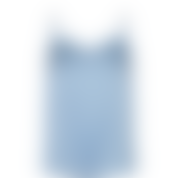 Celestial Blue Ditte Silk Top