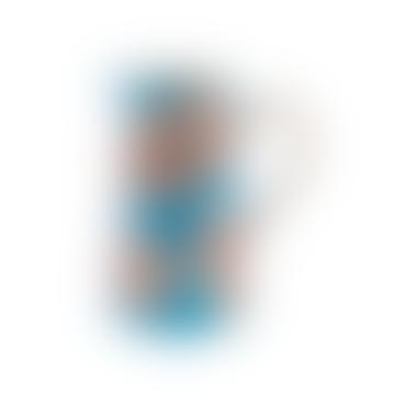 Blue Flower Patterned Jug