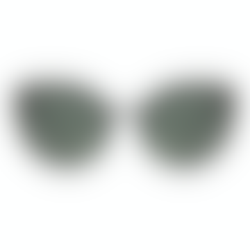 Black Matte and Dark Green Sunglasses