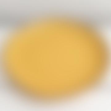 Rose e Tulipani Concerto Dinner Plate 27cm Ocra Yellow