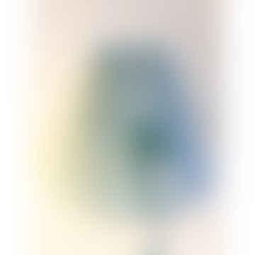 Rie Elise Larsen Light blue/Grey Wingsk paper lampshade small, H 16 cm