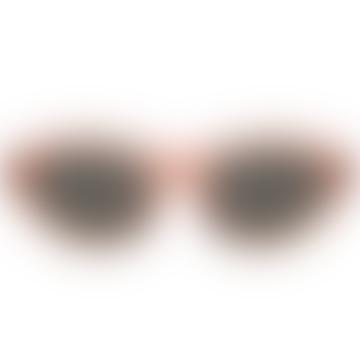 Dirty Orange and Brown Kiki Sunglasses