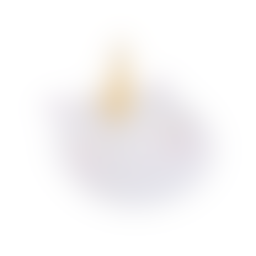 Sass & Belle  White Gold Horn Rainbow Unicorn Trinket Dish