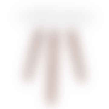 White Hexagonal Side Table