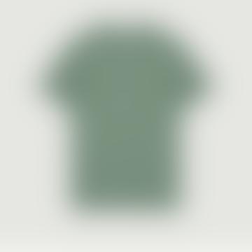 Green Ecru Striped Wild Ones T Shirt