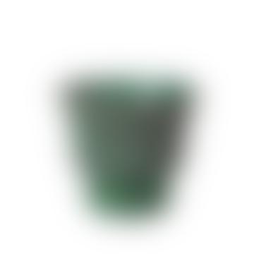 Small Green Stoneware Isaballa Plant Pot