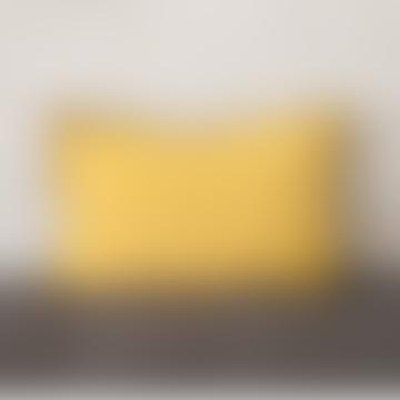 40 x 60cm Curry Linen Cushion Cover