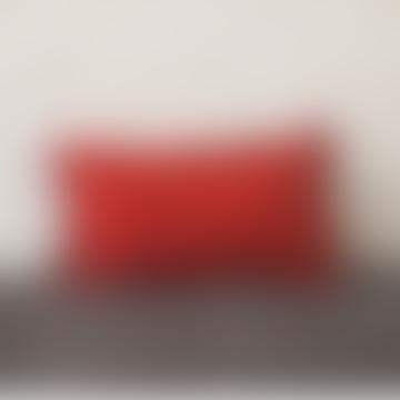 30 x 50cm Chili Linen Cushion Cover