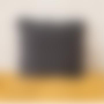 Balakata 45 x 45cm Carbon Grey Linen Cushion Cover