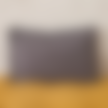 40 x 60cm Dark Grey Linen Cushion Cover